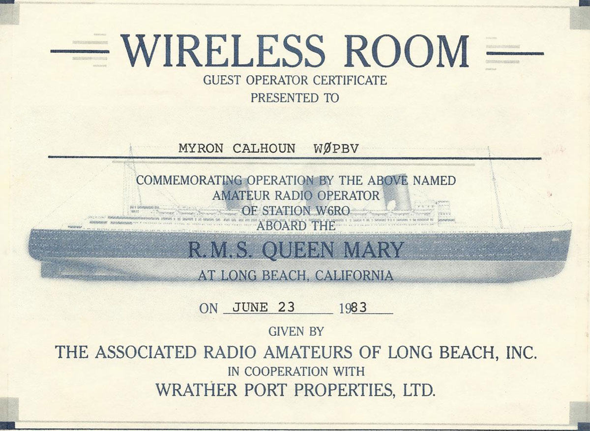 Long Beach Ca Amateur Radio